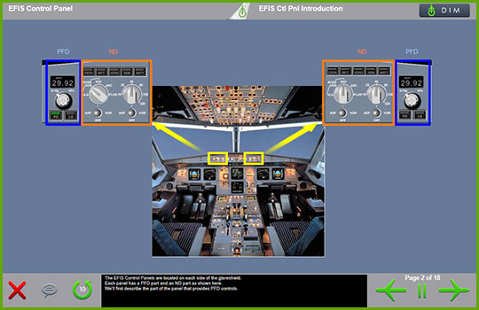 Airbus A320 to A321 Control Panel