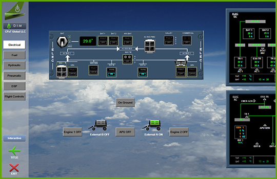 Airbus A330 Interactive Aircraft Systems Diagrams - engines