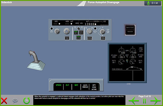 Airbus A330-200 to Airbus A330-300 Differences - force autopilot disengage