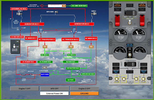 Boeing 737-Classic Interactive Aircraft Systems Diagrams engines