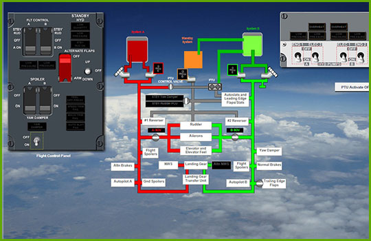 Boeing 737-NG Interactive Aircraft Systems Diagrams - Engine 2