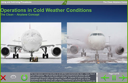 adverse weather training course - operations in cold weather conditions