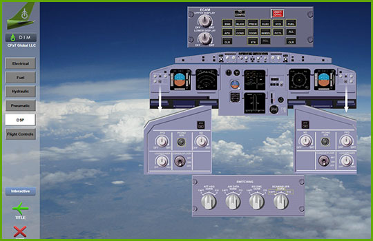 Airbus A330 Interactive Aircraft Systems Diagrams - DSP