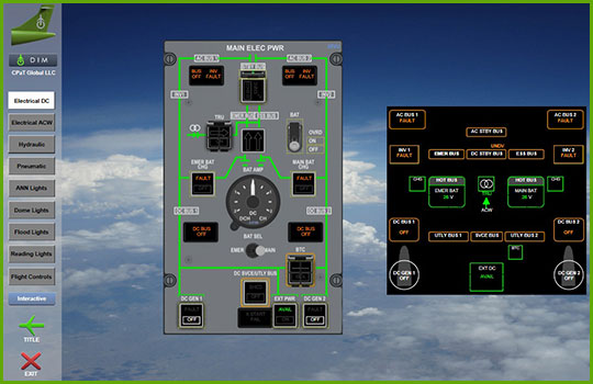 ATR 72/42-600 Interactive Aircraft Training Course - Electrical DC