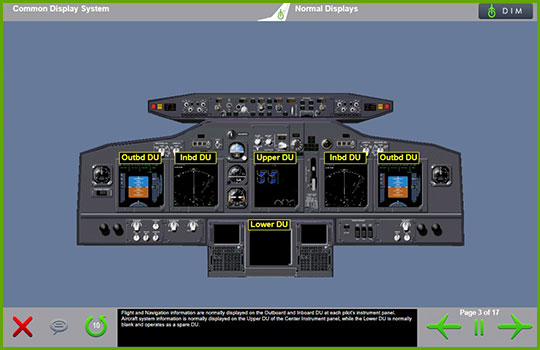 Boeing 737-Classic to Boeing 737 NG Differences Training - common display system