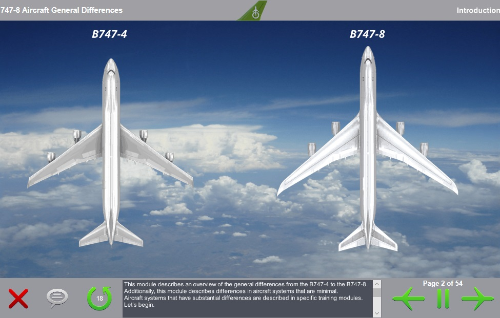 Boeing 747-400 to Boeing 747-8 General Differences
