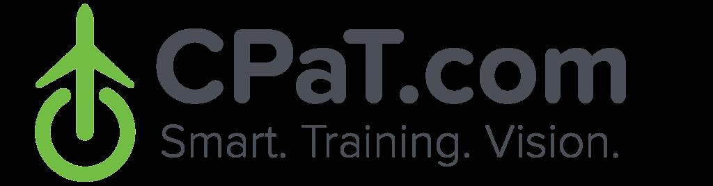 CPaT.com Logo - Smart. Training. vision